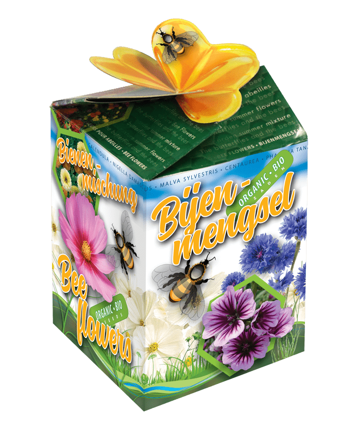 doosje bijenmengsel zaden greengift