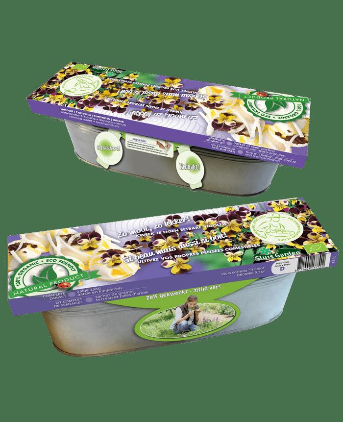 zaaiset zink eetbaar viooltje