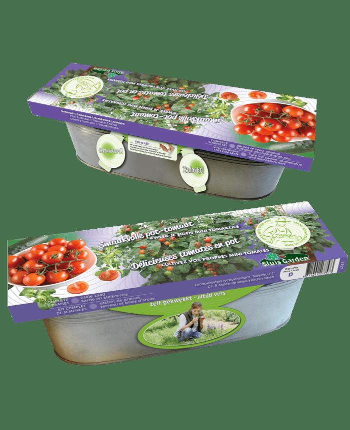 zaaiset pot-tomaat