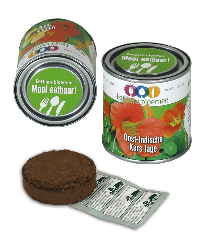 blik oost-indische kers zaden