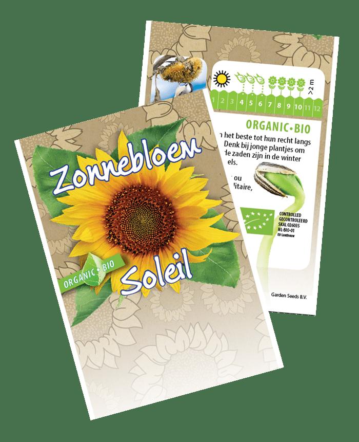 zonnebloemen zadenzakjes