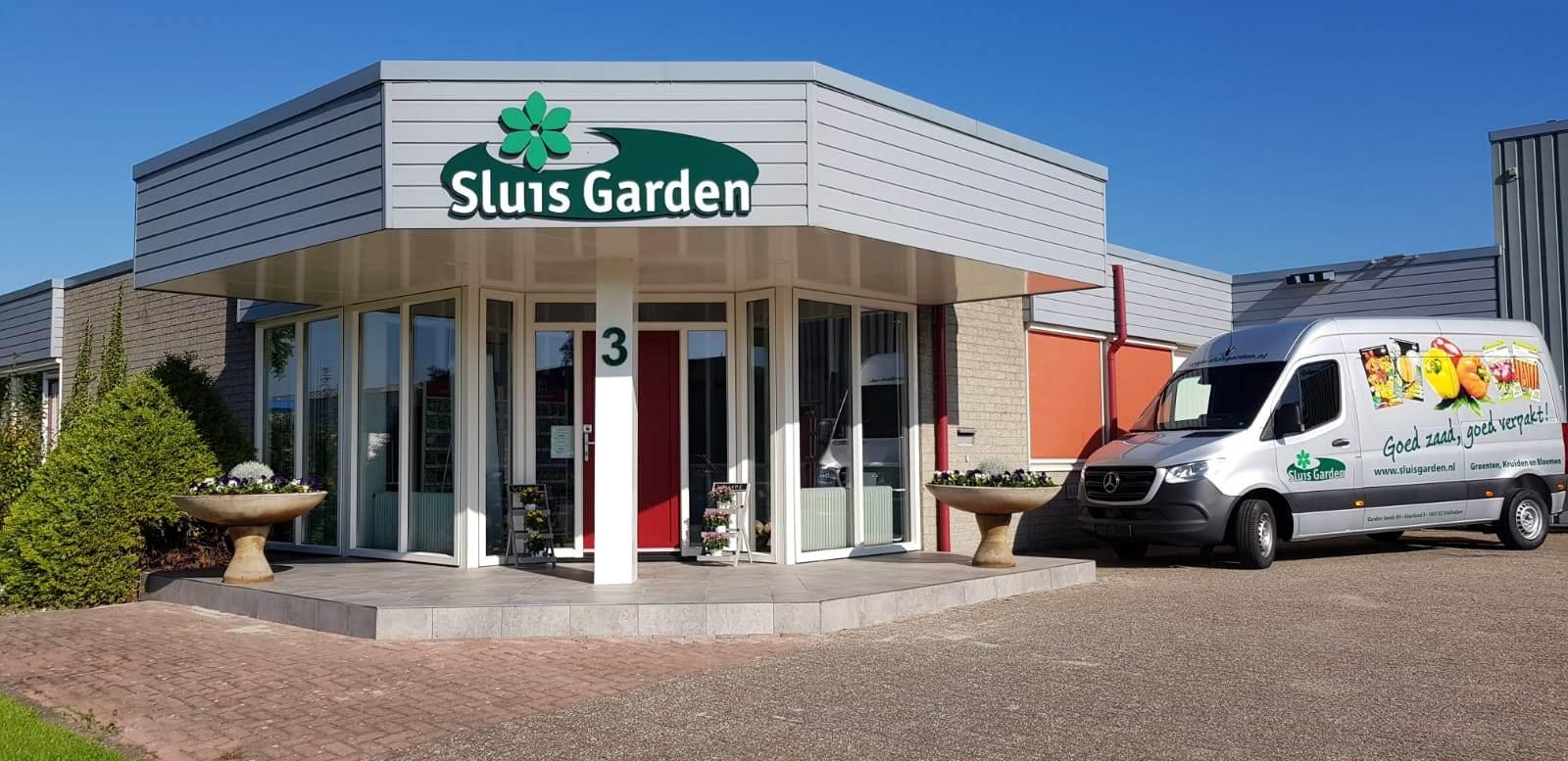 bedrijfspand sluis garden / promozaad