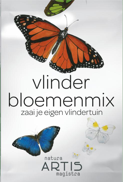 zadenzakje vlinder bloemenmix