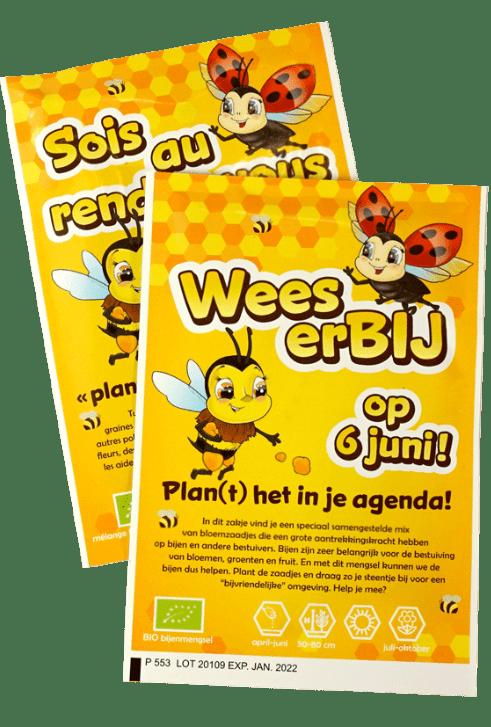 zadenzakje bijenmengsel wees erBij