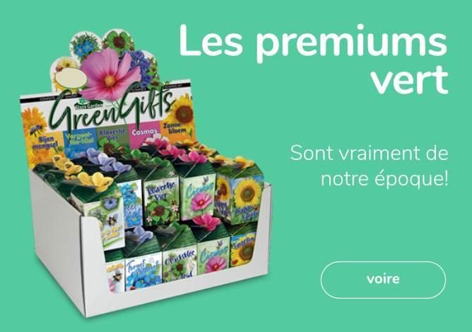 les premiums verts